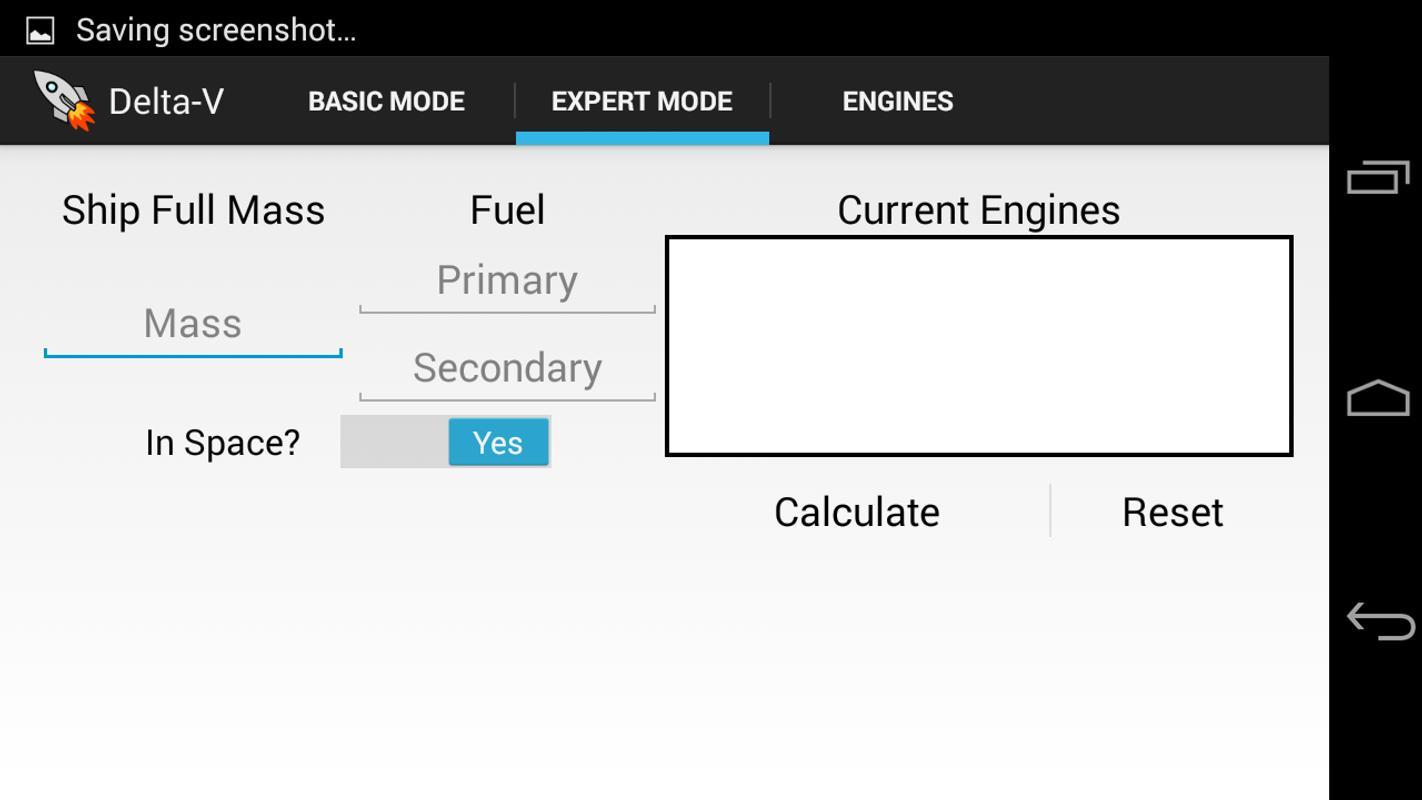 KSP Delta-V Calculator - OLD for Android - APK Download