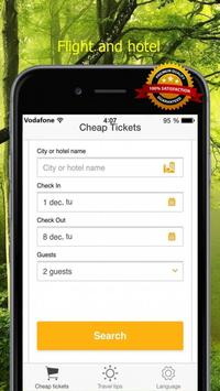 Airline Tickets Worldwide apk screenshot