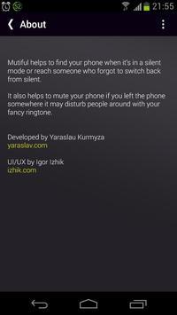 Mutiful. Volume with SMS. screenshot 4