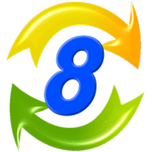 8 Rotate icon