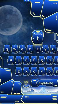 blue spacecraft keyboard ufo stars alien trek screenshot 2