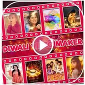 Happy Diwali Video Maker, Diwali Photo Video Maker icon