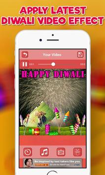 Happy Diwali Video Maker, Diwali Photo Video Maker screenshot 4