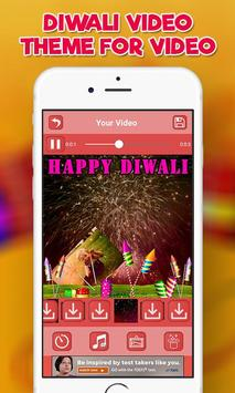 Happy Diwali Video Maker, Diwali Photo Video Maker screenshot 5