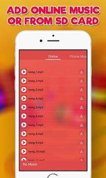 Happy Diwali Video Maker, Diwali Photo Video Maker screenshot 6