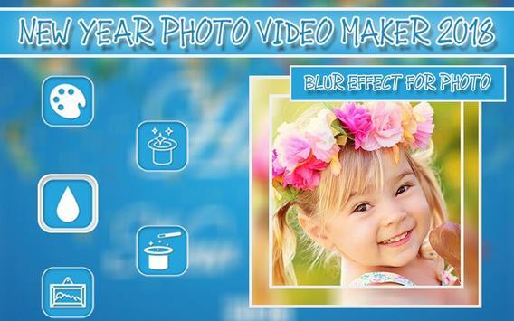 New Year Photo Video Maker 2018 screenshot 2