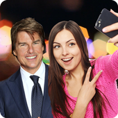 Selfie with Tom Cruise icon