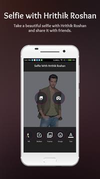 Selfie with Hrithik Roshan poster
