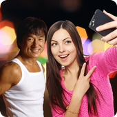 Selfie with Jackie Chan icon