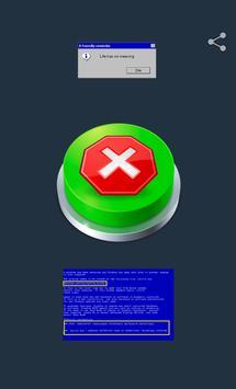 Win XP Critical Error Button poster