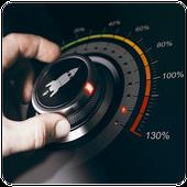 super loud volume booster , speaker booster  2019 icon