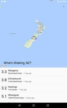 What's Shaking, NZ? apk screenshot
