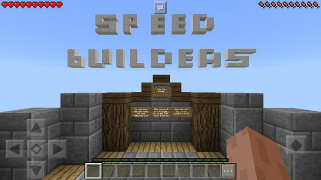 Speed builders  Map for Minecraft for Android - APK Download