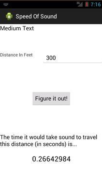 Speed Of Sound apk screenshot