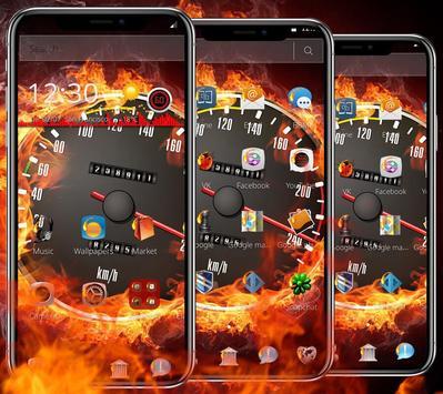 Flame Speed Car Wallpapers & Lock Screen apk screenshot