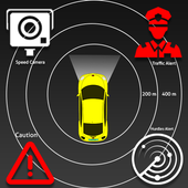 Speed Cameras Traffic Alerts Radarbot : Earth Maps icon