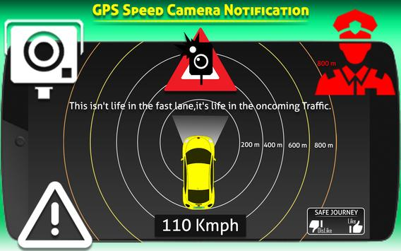 Speed Cameras Traffic Alerts Radarbot : Earth Maps poster
