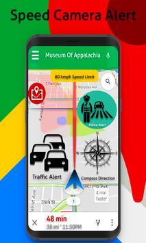 Speed Cameras Traffic Alerts Radarbot : Earth Maps screenshot 1
