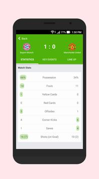 Football Score & Schedule screenshot 1