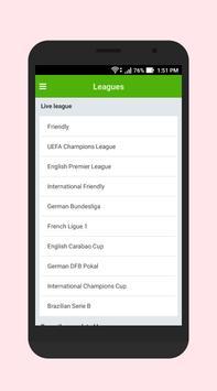 Football Score & Schedule screenshot 3