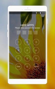 Theme for Spice M-5161n Sunflower wallpaper screenshot 2
