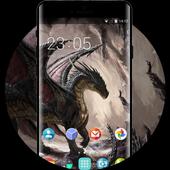 Theme for Spice M-6363 Dark Dragon Wallpaper icon