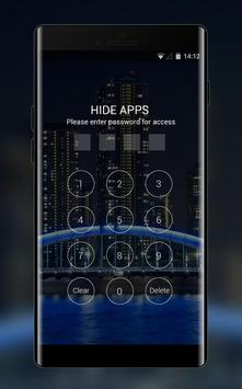 Theme for Spice QT-56 Night View Wallpaper screenshot 2