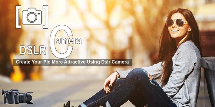 DSLR Camera Blur Background - Live Focus Camera poster