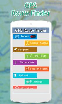 GPS Route Finder screenshot 1