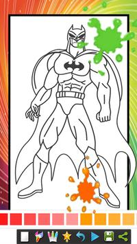 Coloring Book Pages for  Spider Superhero apk screenshot