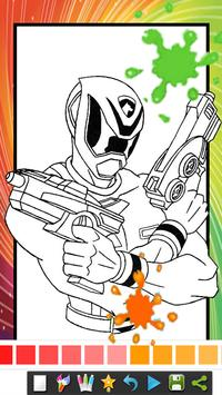 Coloring Book Pages for kids Spider Superhero screenshot 1