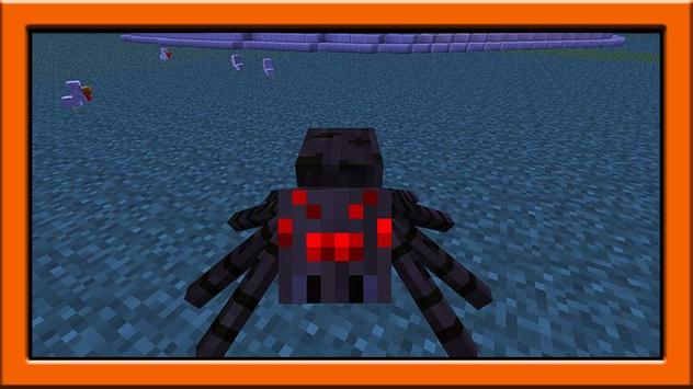 Spider mod for minecraft pe poster