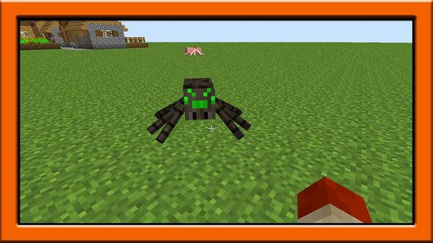 Spider mod for minecraft pe screenshot 11