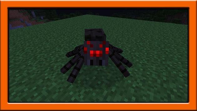 Spider mod for minecraft pe screenshot 1