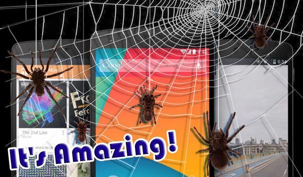 Spider Crawling Prank apk screenshot