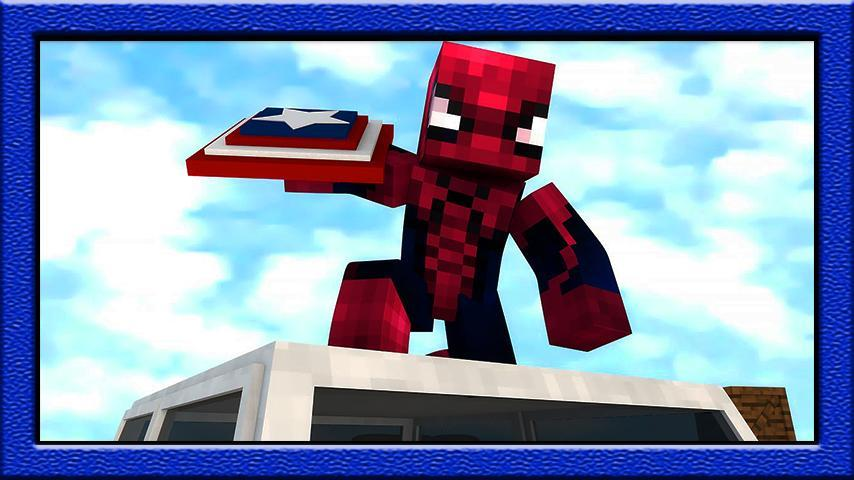 mod for minecraft pe  spiderman for android  apk download