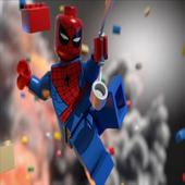 Puzzle LEGO Spiderman icon