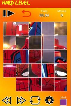 Puzzle LEGO Spiderman screenshot 2
