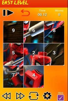 Puzzle Lego Spider poster