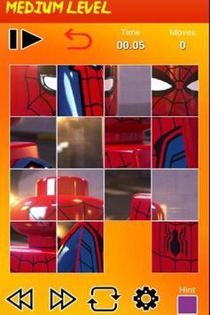 Puzzle Lego Spider screenshot 2