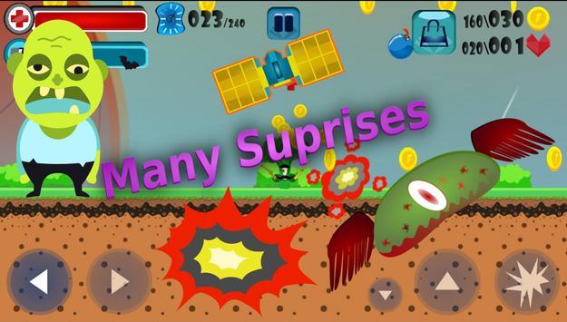 Brave Vegetables: Great Journey screenshot 3