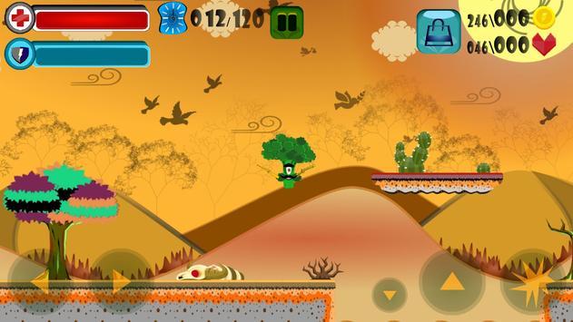 Brave Vegetables: Great Journey screenshot 5