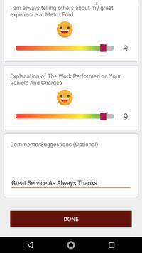Ford Feedback screenshot 4