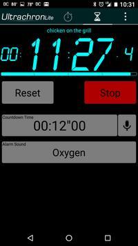 Ultrachron Stopwatch Lite Screenshot 2