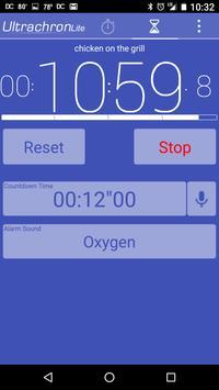 Ultrachron Stopwatch Lite Screenshot 4