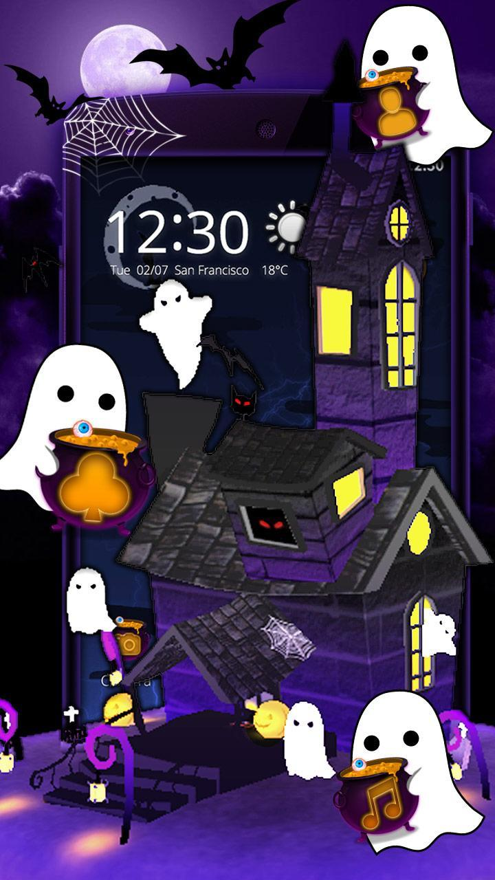 Halloween Spooky House.3d Spooky House Halloween Theme For Android Apk Download