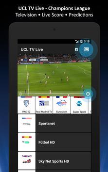 UCL TV Live - Champions League Live - Live Scores apk screenshot