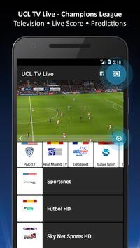 UCL TV Live - Champions League Live - Live Scores poster