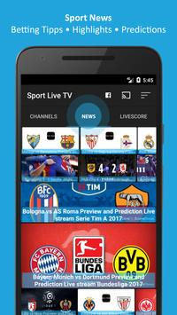 Sport Live Television - Football TV screenshot 1