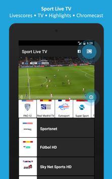 Sport TV Live - Live Score - Sport Television screenshot 3
